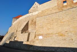 Prace konserwatorskie oraz roboty budowlane na murach obronnych przy ul. Międzyleśnej -  III etap (po remoncie)
