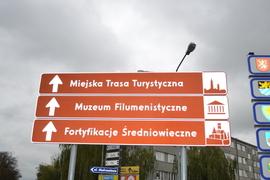 """""""System identyfikacji turystycznej – oznakowanie atrakcji turystycznych Bystrzycy Kłodzkiej oraz ich promocja"""" (Osiedle Szkolne)"""
