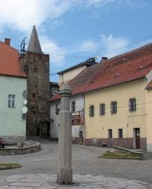 Baszta Kłodzka, widok z Małego Rynku