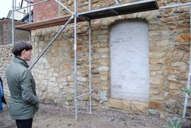 Prace konserwatorskie i renowacyjne północnej części fortyfikacji przy ul. Wojska Polskiego – II etap (wizyta konserwatora zabytków)