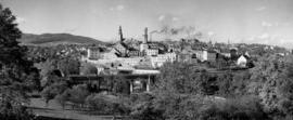 Panorama Bystrzycy Kłodzkiej, fot. Tadeusz Scelina (ok. 1950 r.)