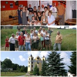 Podnoszenie kwalifikacji kadry turystycznej i agroturystycznej - zwiedzanie pogranicza polsko-czeskiego, Lasówka, Neratov 2006 r.